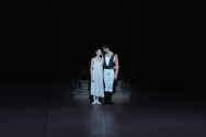 Miriam Kacerova and Constantine Allen after ther debuts in Romeo and Juliet